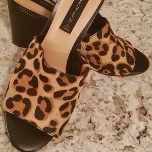 Steven Madden Leopard Wedges